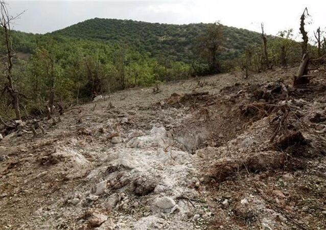 Kandil Dağı'na giden AFP muhabiri, bölgeden fotoğraflar servis etti.