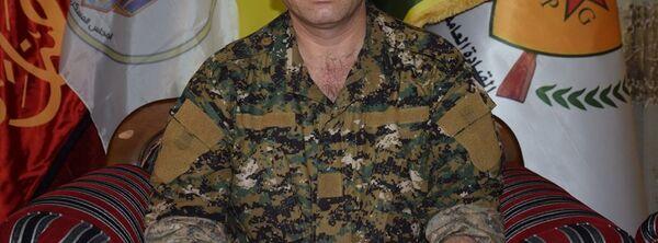YPG sözcüsü Redur Xelil - Sputnik Türkiye