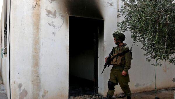 Yahudi yerleşimcilerden, Filistinli ailenin evine saldırı - Sputnik Türkiye