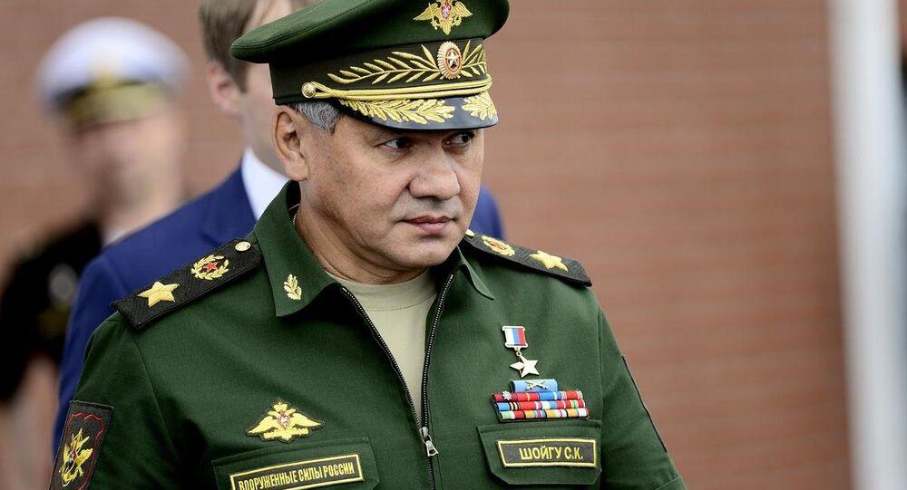 Rusya Savunma Bakanı Sergey Şoygu, Uluslararası Ordu Oyunları'nı izliyor