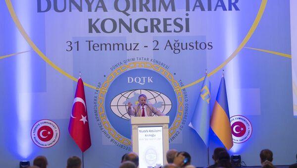 2. Dünya Kırım Tatar Kongresi - Sputnik Türkiye