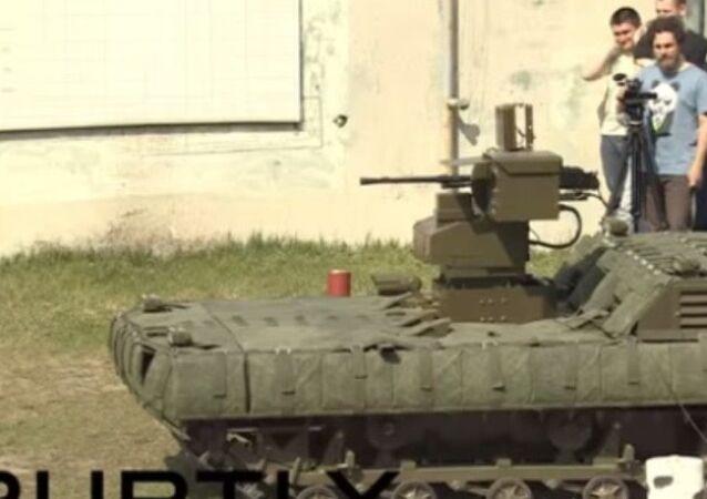 Rusya'dan 7 tonluk 'robotik' zırhlı araç