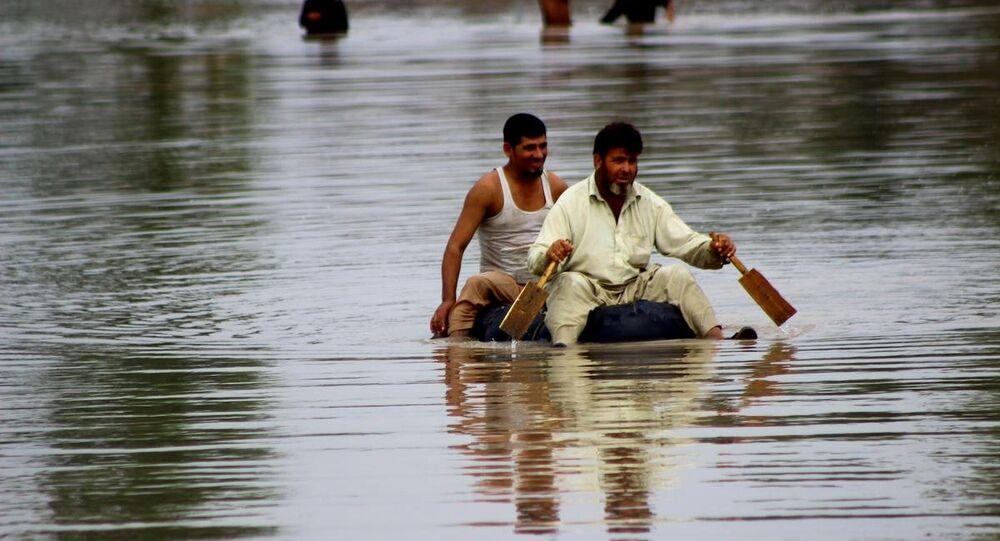 Pakistan'da muson yağmurları