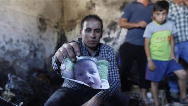 Yakılan Filistinli bebek - Sputnik Türkiye