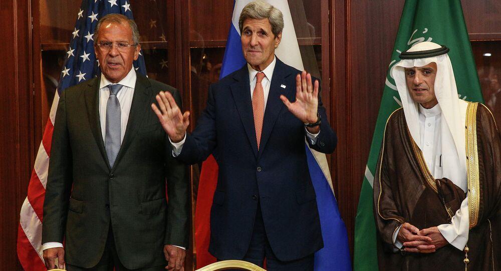 Sergey Lavrov - John Kerry - Adil el Cubeyr
