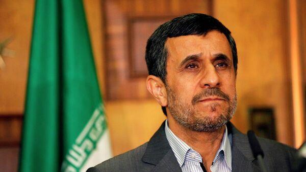 İran eski Cumhurbaşkanı Mahmud Ahmedinejad - Sputnik Türkiye
