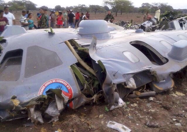 Kolombiya'da helikopter kazası