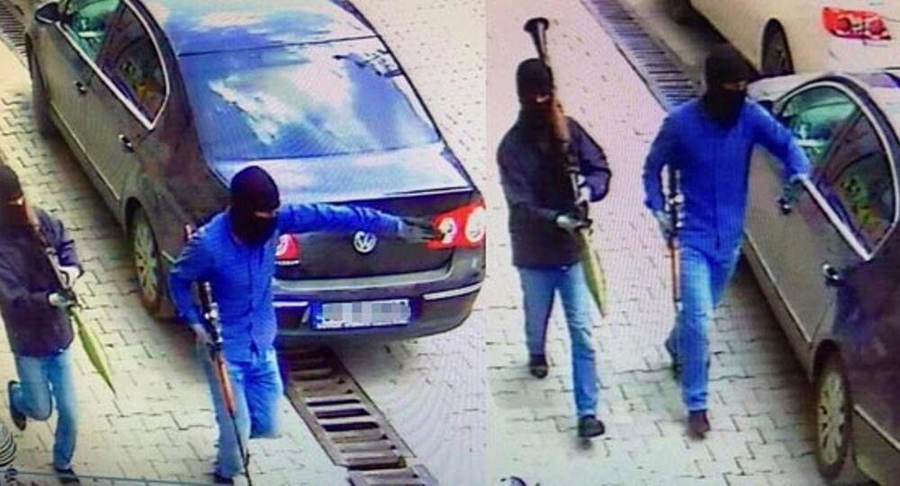Yüksekova'da emniyet binasına saldırı