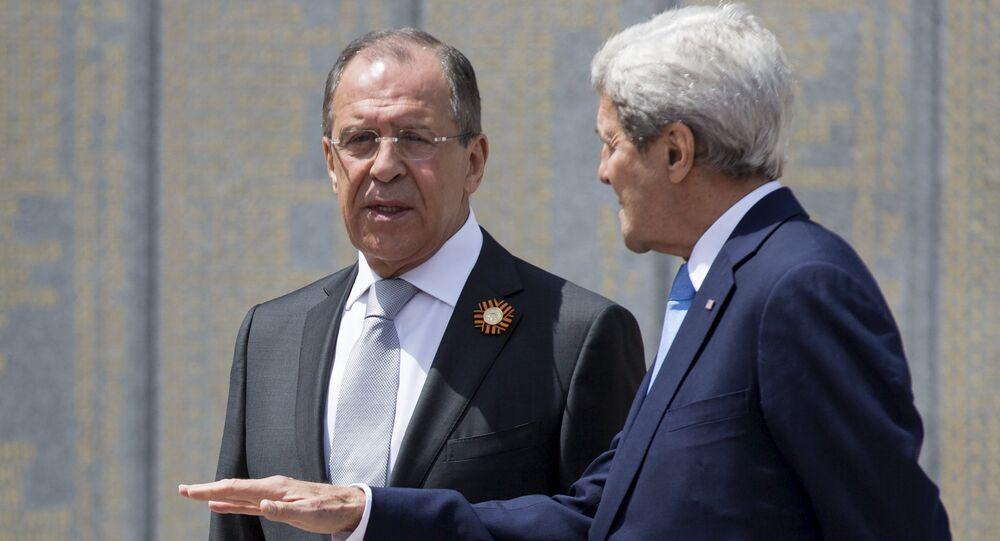 Sergey Lavrov & John Kerry