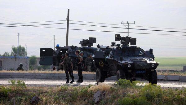 Jandarma karakoluna saldırı - Sputnik Türkiye