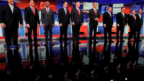 ABD başkanlık seçimi kampanyası - Sputnik Türkiye
