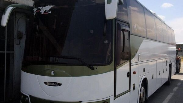 İran plakalı otobüse silahlı saldırı - Sputnik Türkiye