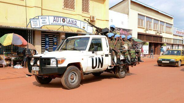 BM'nin Orta Afrika'daki misyonu - Sputnik Türkiye