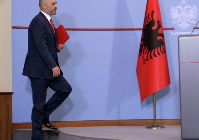 Arnavutluk Başbakanı Edi Rama