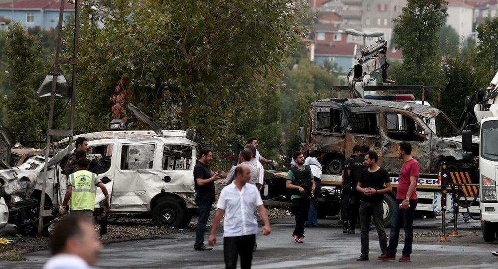 Sultanbeyli'deki polis merkezine saldırı