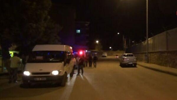 Tunceli Cumhuriyet Mahallesi'nde bulunan Jandarma Bölge Komutanlığı'na ses bombalı saldırı düzenlendi. - Sputnik Türkiye