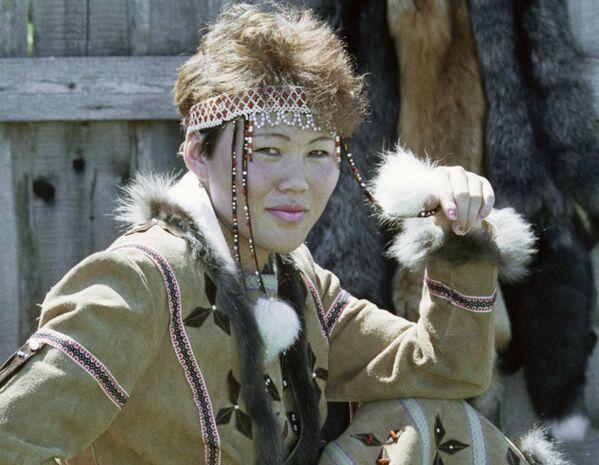 Rusya'nın yerli halklarından renkli görüntüler - Sputnik Türkiye
