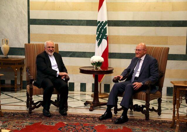 İran Dışişleri Bakanı Muhammed Cevad Zarif'in Lübnan ziyareti