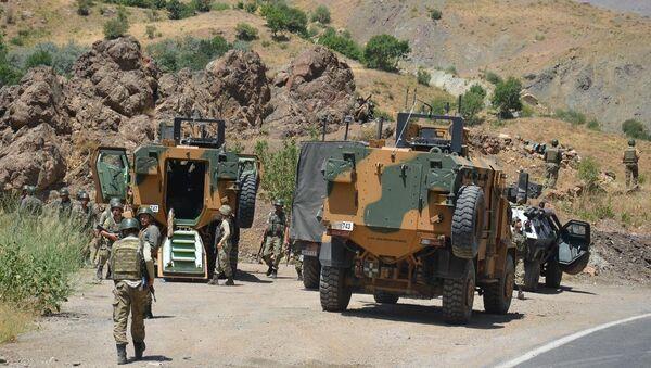 Hakkari'de terör saldırısı - Sputnik Türkiye