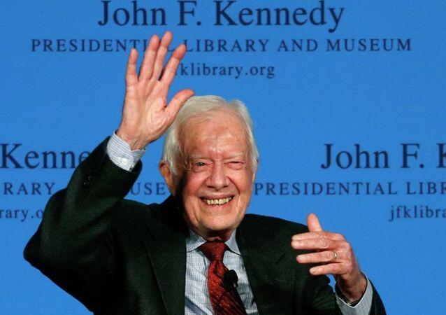Eski Amerika Birleşik Devletleri Başkanı Jimmy Carter