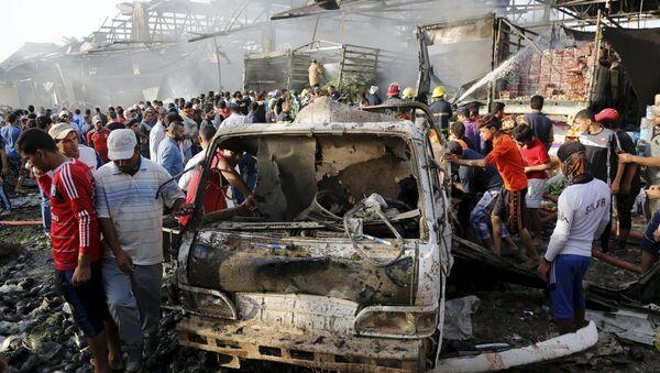 Irak'ta patlama - Sputnik Türkiye