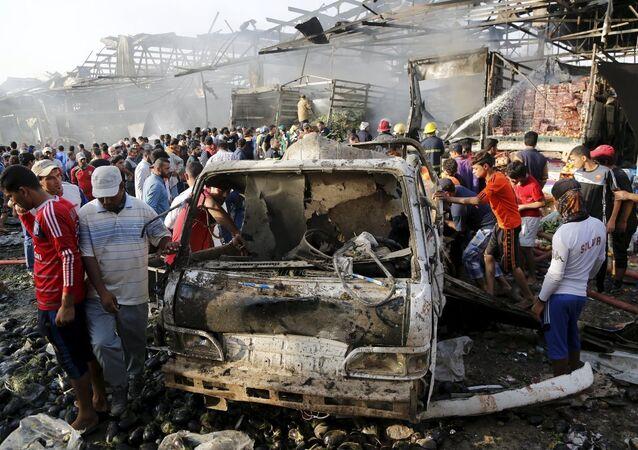 Irak'ta patlama