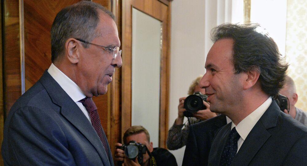 Sergey Lavrov & Halid Hoca