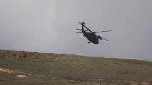 Mısır'da askeri helikopter düştü - Sputnik Türkiye