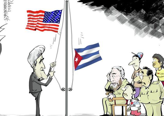 Kerry, Küba'da Raul ve Fidel Castro ile görüşmeyecek