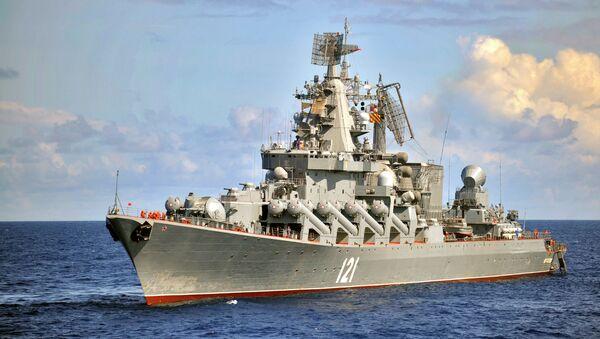 Rusya Karadeniz Filosu -  Moskova füze kruvazörü - Sputnik Türkiye