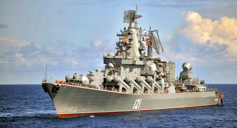 Rusya Karadeniz Filosu -  Moskova füze kruvazörü