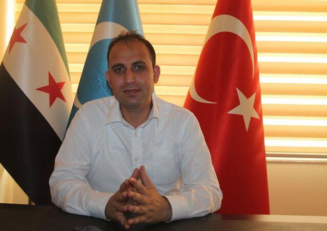 Suriye Türkmen Milli Hareket Partisi Genel Başkan Yardımcısı Tarık Sülo Cevizci