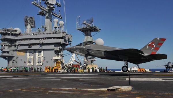 ABD'nin F-35 hayalet jetleri - Sputnik Türkiye
