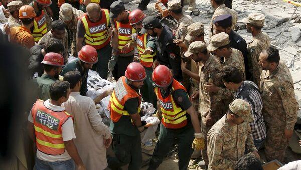 Pakistan'da intihar saldırısı - Sputnik Türkiye