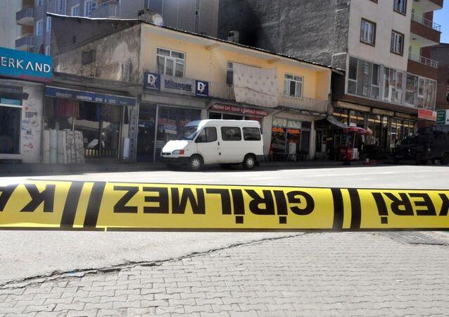 Bomba- saldırı- polis