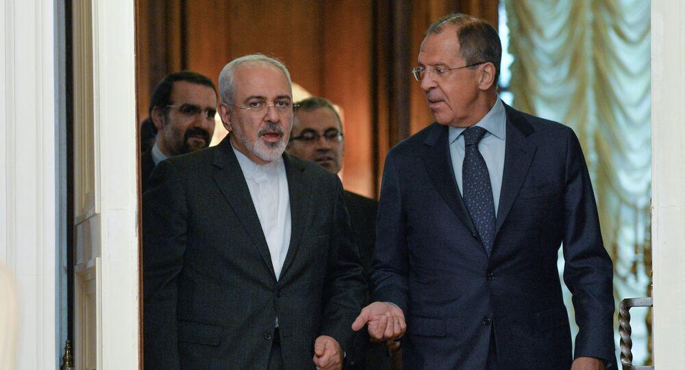 İran Dışişleri Bakanı Muhammed Cevad Zarif ve Rusya Dışişleri Bakanı Sergey Lavrov