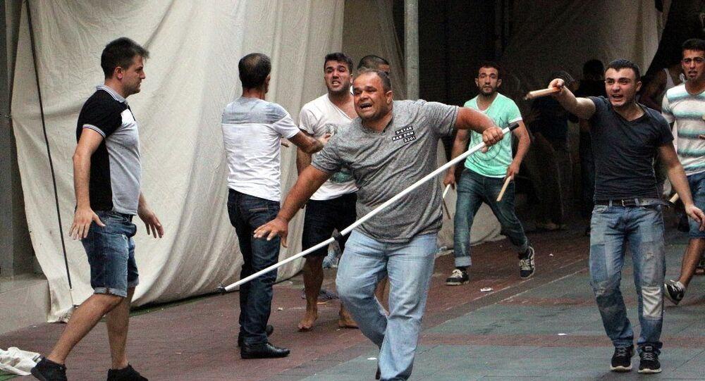 Antalya terör protestosu