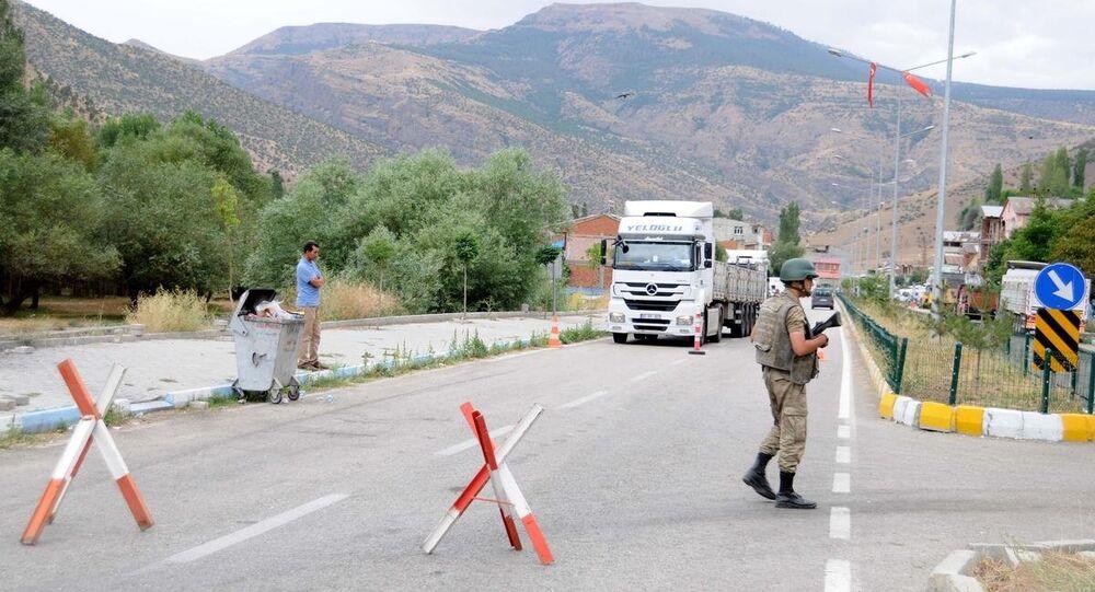 PKK'lıların minibüse ateş açması