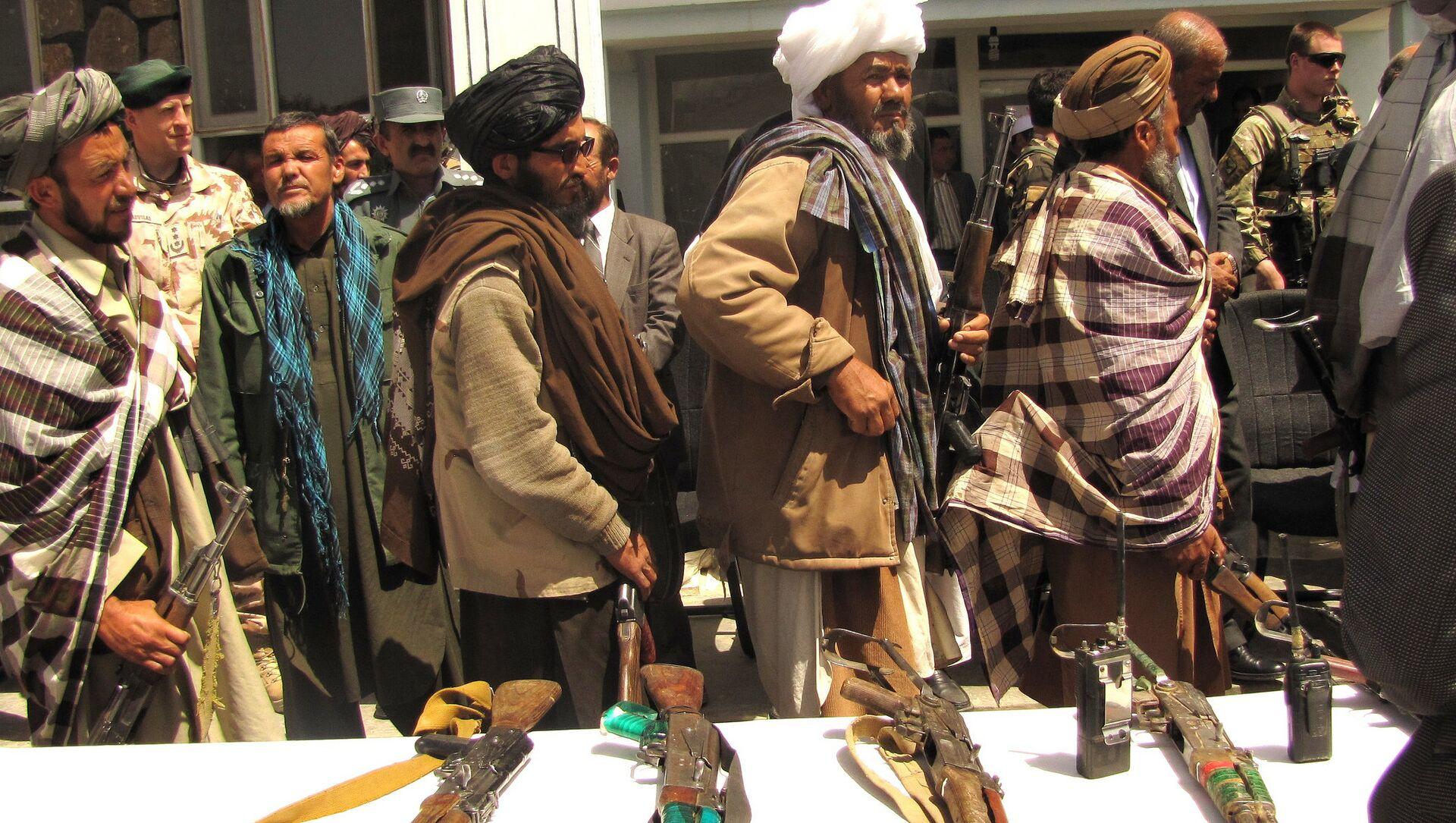 Taliban militanları - Sputnik Türkiye, 1920, 04.08.2021
