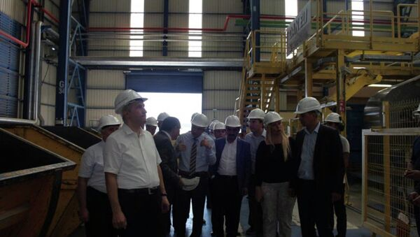 MMK Grubu'nun Türkiye'deki fabrikası - Sputnik Türkiye