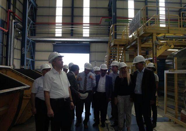 MMK Grubu'nun Türkiye'deki fabrikası