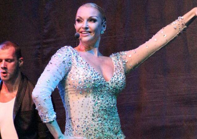 Rus balerin Anastasia Volochkova