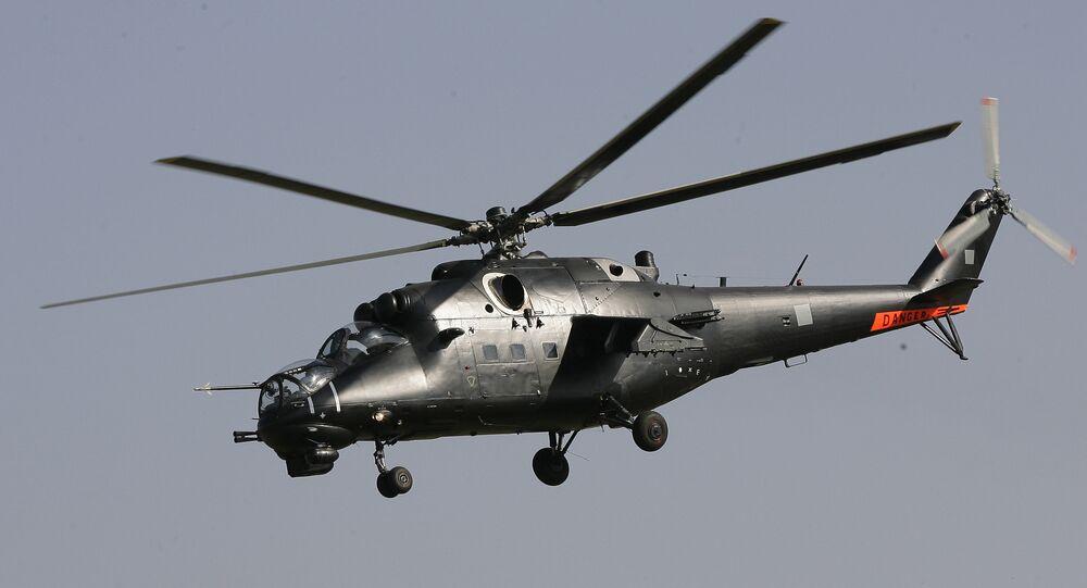 Mi-35 tipi taarruz helikopteri