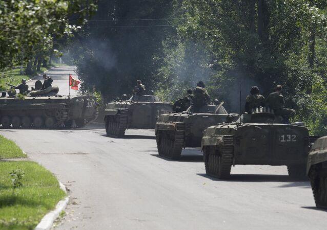 Donetsk Halk Cumhuriyeti milisleri