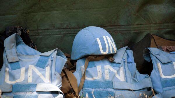 BM Barış Gücü askerlerinin teçhizatları - Sputnik Türkiye