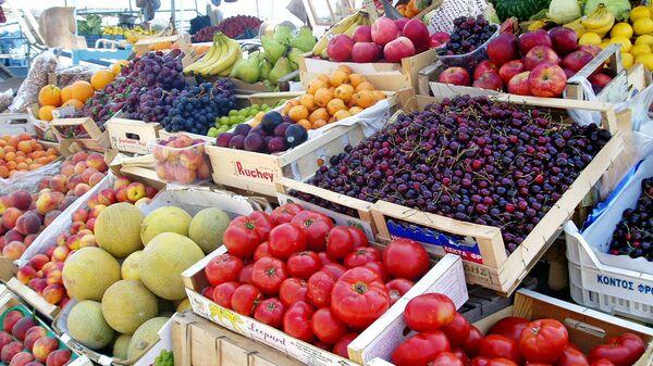 Meyve-sebze pazarı - Sputnik Türkiye