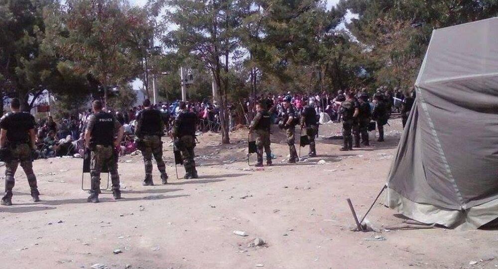 Makedonya'daki göçmen krizi