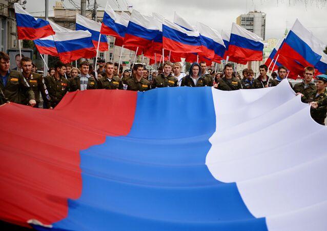 Rusya, 'Ulusal Bayrak Günü'nü kutluyor