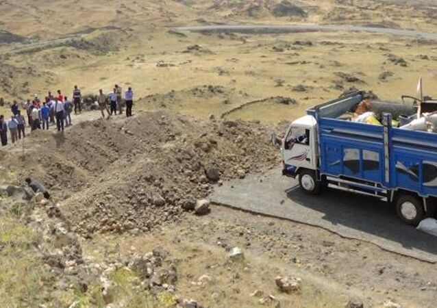 PKK'nın Ağrı Dağı'na götürdüğü otomobillere 'hendekli' önlem