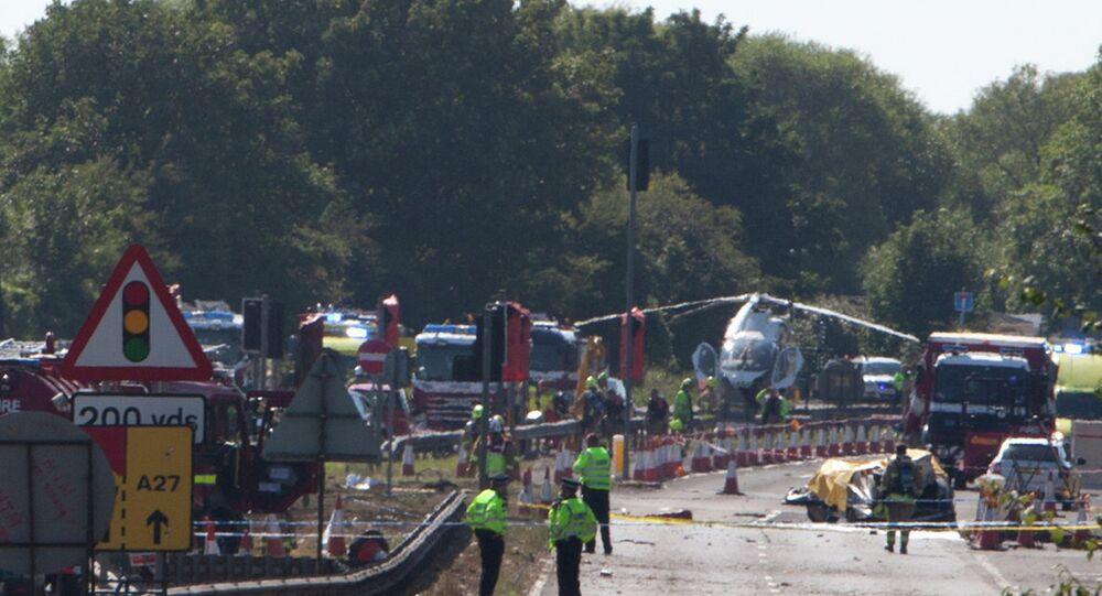 İngiltere uçak kazası